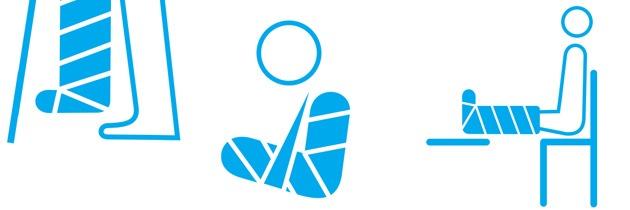 Recomendaciones para el cuidado de yesos y vendajes