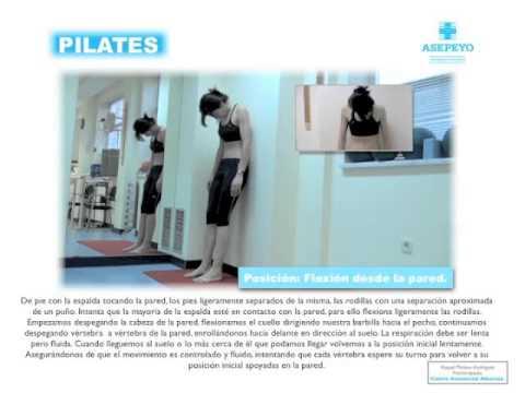 Sistema de acondicionamiento corporal: Método Pilates