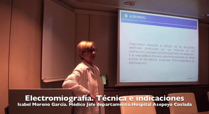 Electromiografía. Técnicas e indicaciones