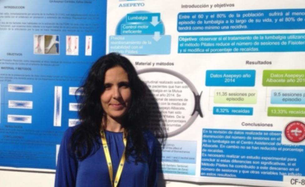 Premio al mejor cartel de fisioterapia SETLA