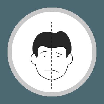 prevenir el ictus - paralisis cara