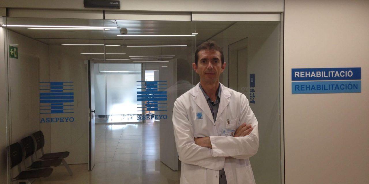 Lluís Guirao, nuevo jefe del servicio de Rehabilitación  del Hospital Asepeyo Sant Cugat