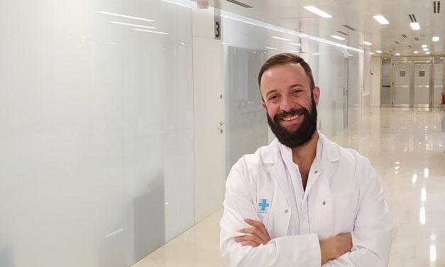 Iván lavado, nuevo jefe del servicio de Anestesiología y Reanimación del Hospital Asepeyo Sant Cugat