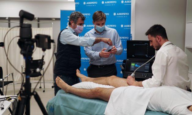 V edición de 'Mánchate las manos' en el Hospital Asepeyo Coslada
